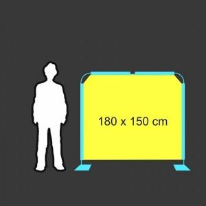 Zástěna 180 x 150 cm