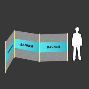 Bannery na ochranné sítě