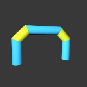 Lomená brána Pneu individuální rozměr