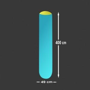 Nafukovací sloup Pneu 4 x 0,49 m