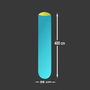 Nafukovací sloup Pneu 4 x 0,98 m