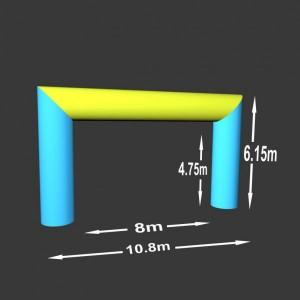 Rovná brána 8 x 4.75