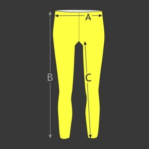 Atletické kalhoty dlouhé