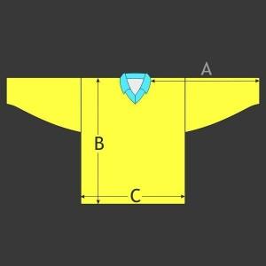 Hokejový dres Klasik s límečkem