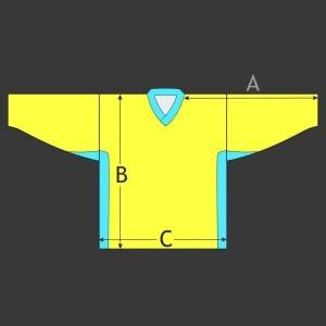 Hokejový dres Klasik s odvětráním
