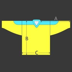 Hokejový dres Klasik s potiskem ramen