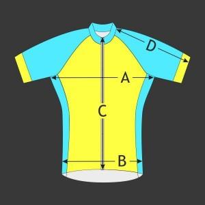 Cyklistický dres Race Raglán kr. rukáv